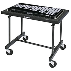 Yamaha orchestra bells glockenspiels music arts for Yamaha student bell kit with backpack and rolling cart