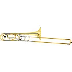 yamaha trombone. ysl-882 xeno series f attachment trombone yellow brass bell yamaha